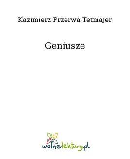 Chomikuj, ebook online Geniusze. Kazimierz Przerwa-Tetmajer