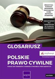Chomikuj, pobierz ebook online Glosariusz. Polskie prawo cywilne. Natalia Mielech