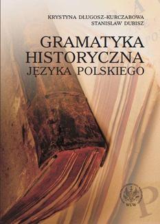 Ebook Gramatyka historyczna języka polskiego pdf