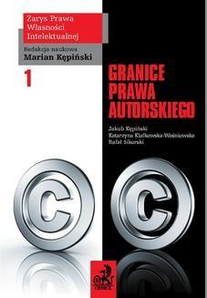 Chomikuj, ebook online Granice prawa autorskiego. Jarosław Greser
