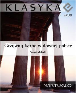 Chomikuj, ebook online Grzywny karne w dawnej polsce. Antoni Małecki
