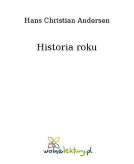 Chomikuj, ebook online Historia roku. Hans Christian Andersen