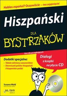 Chomikuj, ebook online Hiszpański dla bystrzaków. Susana Wald