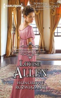 Chomikuj, ebook online Honorowe rozwiązanie. Louise Allen