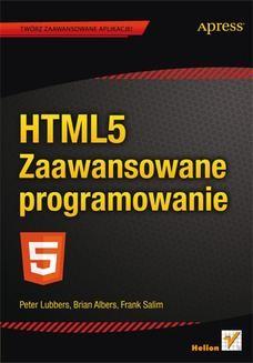 Ebook HTML5. Zaawansowane programowanie pdf