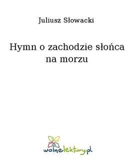 Ebook Hymn o zachodzie słońca na morzu pdf