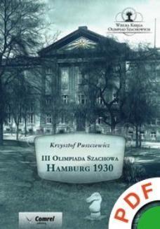 Chomikuj, ebook online III Olimpiada Szachowa. Hamburg 1930. Krzysztof Puszczewicz
