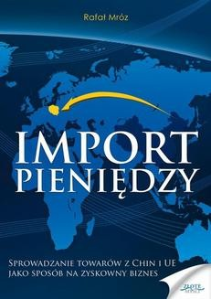 Ebook Import pieniędzy pdf
