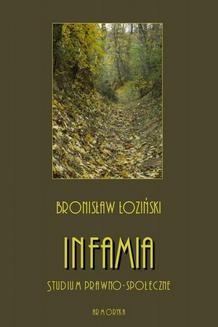 Ebook Infamia. Studium prawno-społeczne pdf