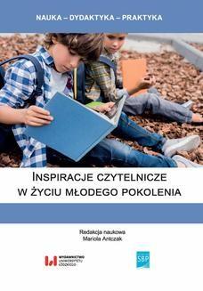 Ebook Inspiracje czytelnicze w życiu młodego pokolenia pdf