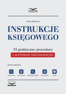 Ebook Instrukcje księgowego. 53 praktyczne procedury z serwisem internetowym. Wydanie II pdf