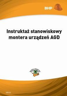 Chomikuj, ebook online Instruktaż stanowiskowy montera urządzeń AGD. Waldemar Klucha