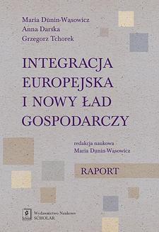 Chomikuj, ebook online Integracja europejska i nowy ład gospodarczy. Anna Darska