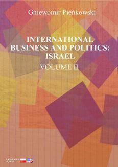 Ebook International Business and Politics. Volume II: Israel pdf