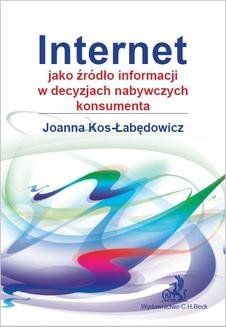 Chomikuj, ebook online Internet jako źródło informacji w decyzjach nabywczych konsumenta. Joanna Kos-Łabędowicz