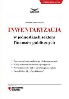 Ebook Inwentaryzacja w jednostkach sektora finansów publicznych. Wydanie II pdf