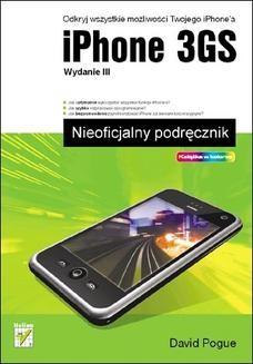 Chomikuj, ebook online iPhone 3GS. Nieoficjalny podręcznik. Wydanie III. David Pogue
