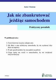 Chomikuj, ebook online Jak nie zbankrutować jeżdżąc samochodem. Witold Rogowski