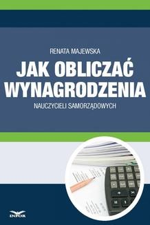Ebook Jak obliczać wynagrodzenie nauczycieli samorządowych pdf