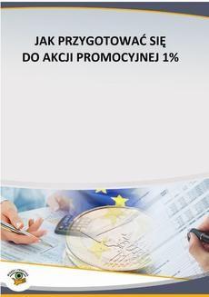 Ebook Jak przygotować się do akcji promocyjnej 1% pdf