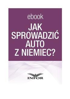 Ebook Jak sprowadzić auto z Niemiec pdf