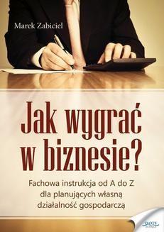 Ebook Jak wygrać w biznesie? pdf