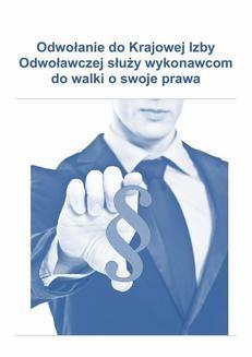 Chomikuj, ebook online Jak złożyć odwołanie do Krajowej Izby Odwoławczej, które służy wykonawcom do walki o swoje prawa. Mariusz Bidziński