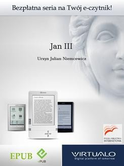 Chomikuj, ebook online Jan III. Ursyn Julian Niemcewicz
