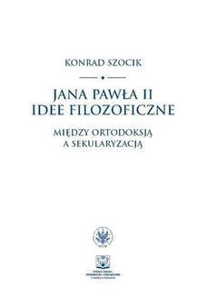 Ebook Jana Pawła II idee filozoficzne pdf