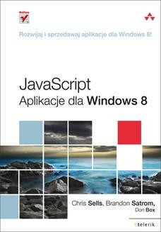 Ebook JavaScript. Aplikacje dla Windows 8 pdf