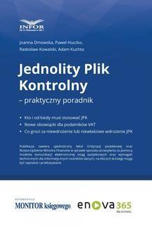 Chomikuj, ebook online Jednolity Plik Kontrolny – praktyczny poradnik. Paweł Huczko