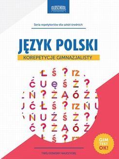 Chomikuj, ebook online Język polski. Korepetycje gimnazjalisty. Małgorzata Białek