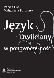 Chomikuj, ebook online Język uwikłany w ponowoczesność. Izabela Łuc