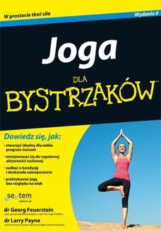 Chomikuj, ebook online Joga dla bystrzaków. Georg Feuerstein Ph.D.