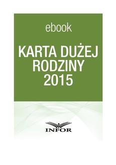 Ebook Karta Dużej Rodziny 2015 pdf