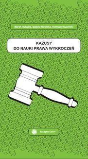 Ebook Kazusy do nauki prawa wykroczeń pdf