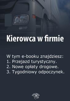 Chomikuj, ebook online Kierowca w firmie, wydanie marzec 2014 r. Praca zbiorowa