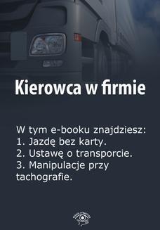 Chomikuj, ebook online Kierowca w firmie, wydanie specjalne marzec 2014 r. Praca zbiorowa