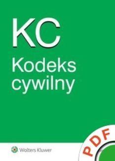 Chomikuj, ebook online Kodeks cywilny. Opracowanie zbiorowe