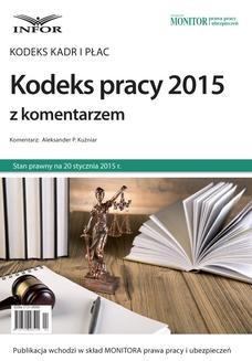 Ebook Kodeks pracy 2015 z komentarzem pdf