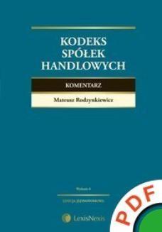 Ebook Kodeks spółek handlowych. Komentarz pdf