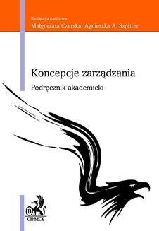 Chomikuj, ebook online Koncepcje zarządzania. Podręcznik Akademicki. Opracowanie zbiorowe