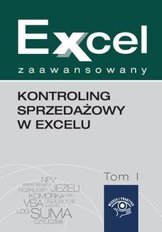 Chomikuj, ebook online Kontroling sprzedażowy w Excelu. Wojciech Próchnicki