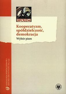 Ebook Kooperatyzm, spółdzielczość, demokracja pdf