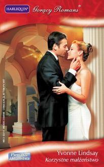 Chomikuj, ebook online Korzystne małżeństwo. Yvonne Lindsay