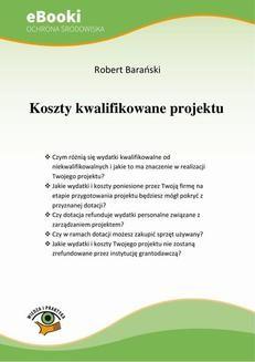 Chomikuj, ebook online Koszty kwalifikowane projektu. Robert Barański