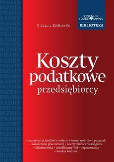 Chomikuj, ebook online Koszty podatkowe przedsiębiorcy. Grzegorz Ziółkowski