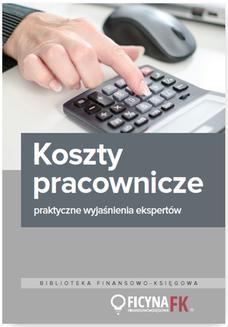 Chomikuj, ebook online Koszty pracownicze – praktyczne wyjaśnienia ekspertów. Mariusz Olech
