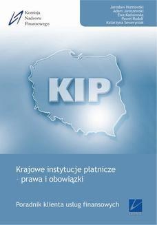 Chomikuj, ebook online Krajowe instytucje płatnicze – prawa i obowiązki. Jarosław Hornowski