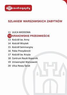Chomikuj, ebook online Krakowskie Przedmieście. Szlakiem warszawskich zabytków. Ewa Chęć